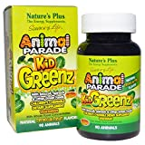 Nature'S Plus Animal Parade Kid Greenz 250 Mg 90 Chewable Tablets from Natures Plus