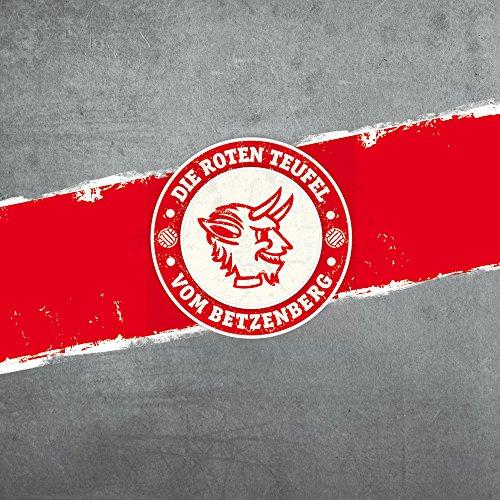 Apple iPhone 7 Lederhülle Leder Case Leder Handyhülle 1. FC Kaiserslautern Fanartikel FCK Leder Case weiß