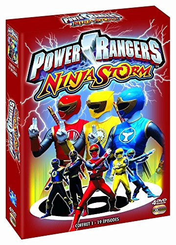 Power Rangers Ninja Storm Coffret 1