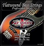 Adagio Bass-Jeu de cordes pour guitare électrique - 45-100