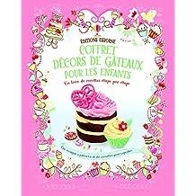 Coffret décors de gâteaux pour les enfants
