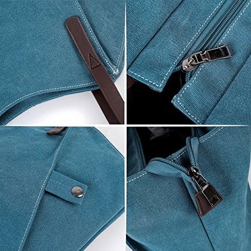 Borsa a tracolla borsa Hobo,tela Blu