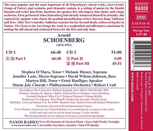Schoenberg : Gurre-Lieder