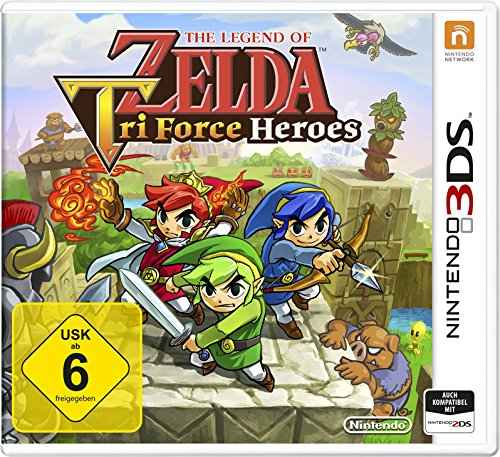- 61Da89kymlL - The Legend of Zelda: TriForce Heroes – [3DS]