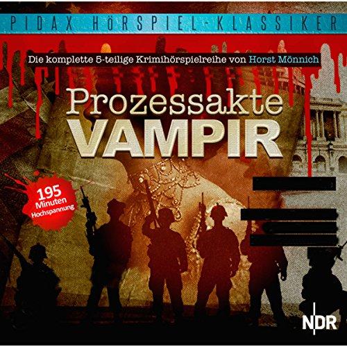 Buchseite und Rezensionen zu 'Prozessakte Vampir' von Horst Mönnich