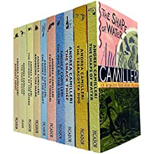 Inspector Montalbano Mysteries Series Books 1 - 10 by Andrea Camilleri
