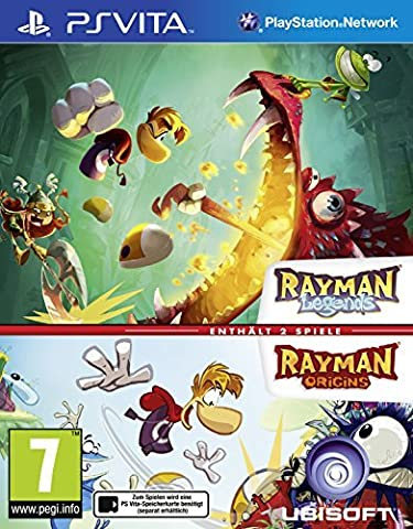 Rayman Legends (PS Vita) + Rayman Origins (PS Vita) by UBI Soft