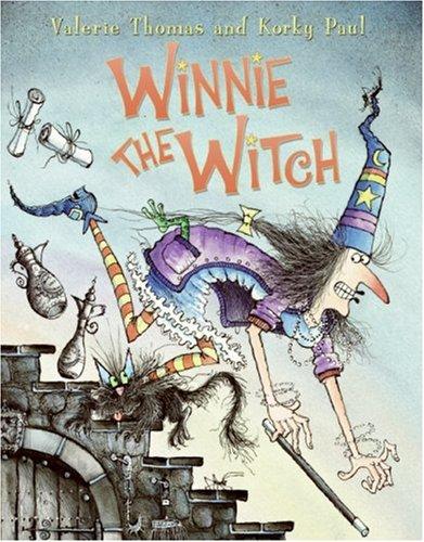 Winnie the Witch por Valerie Thomas
