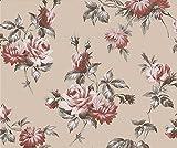 Maivasyy Grand Sticker Mural Fleurs Fond Plat étanche Chaud Chambre Dortoir dortoir étudiant Wallpaper