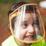MAKER'S ASYLUM M-19 Baby & Junior Face Shield [Pack Of 3] (Nano (1-3 Years), Orange)