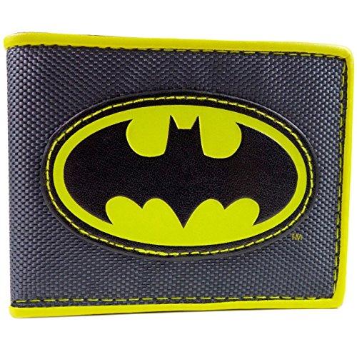 Cartera de DC Comics Batman Símbolo Amarillo