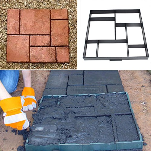 free-shipping-51cm-garden-diy-plastic-path-maker-model-road-paving-cement-mould-brick-stone-road-bml