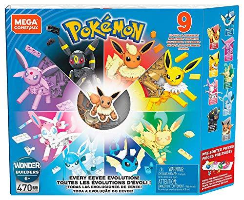 Mega Construx Pokémon Pack de evoluciones Eevee