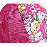 Fletion Frauen Teens Mädchen Floral Baseballmütze Fußball Hut Sommer Casual Mesh Cap Sonnenschutz Hut -