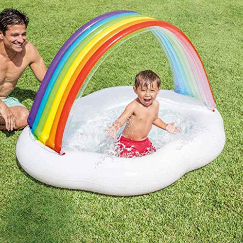 XSWZAQ Beschattungskleiner Hauptkarikatur-Schattenpool 0-2-3 Jahre alte Kinder, die Pool Swimmingpool Baden