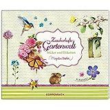 Stickerbuch Zauberhafte Gartenwelt: Sticker und Etiketten
