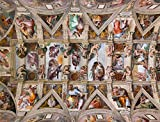 Sistine Chapel Ceiling by Michelangelo 1000 Piece Jigsaw Puzzle