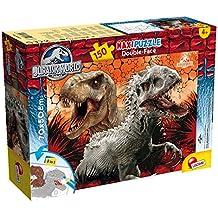 Lisciani Giochi 52875 - Puzzle Df Supermaxi Jurassic World, 150 Pezzi, Multicolore