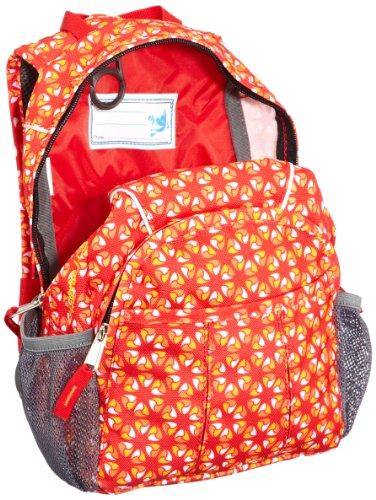 VAUDE Unisex - Kinder Rucksack Minnie Red/Mandarine Print
