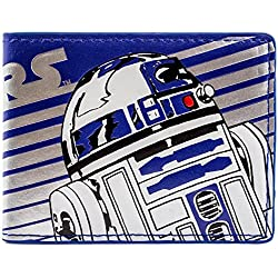 Cartera de Disney Star Wars R2-D2 Droid raya Azul