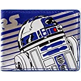 Disney Star Wars R2-D2 Droid Stripe Blu portafoglio