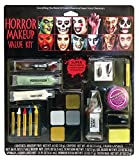 shoperama Diverse Halloween Schminksets Vampirin Zombie Blut Schminke Wunden Narben Vampir-Zähne Kunstblut Make-up, Namen:Horror Makeup Value Kit