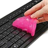 MECO 4 PCS Gel Nettoyant Equipés d'Une Boîte, Keyboard Cleaner, Gel Universel Adhésif pour Calvier, Voiture…