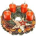 Adventskranz Merry Christmas von Valentins auf Du und dein Garten