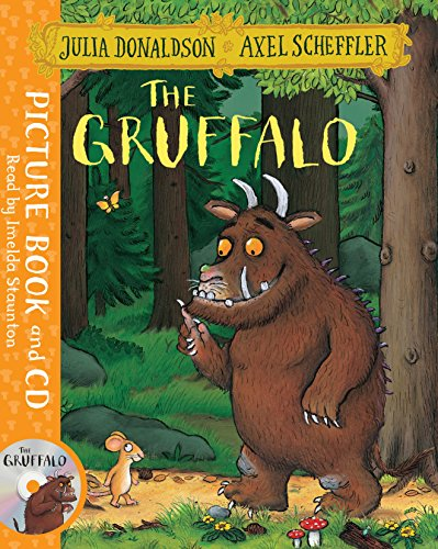 The Gruffalo. Book and CD Pack [Lingua inglese] di Julia Donaldson