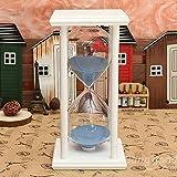 Saver 60 minutes cadre en bois sable du sablier sablier cadeau maison de minuterie de décoration