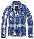 Brandit Check Shirt Blau L