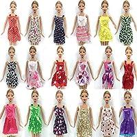 Barbie Dresses, Shoes & Hangers 36 Pieces