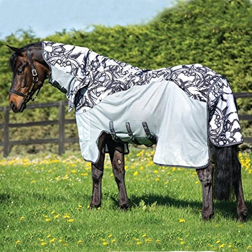 horseware-amigo-couverture-anti-mouches-regengeeignete-three-all-in-one-vamoose-silver-black-printed