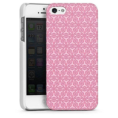 Apple iPhone 6 Housse Étui Silicone Coque Protection Ornements Fleurs Fleurs CasDur blanc