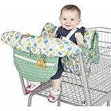 Baby Sitzbezug Reise, Kleinkind Hochstuhl Sicherheits Gurt Tragbar Kinder Einkaufswagenschutz,Grün