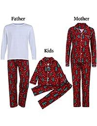 Ropa de familia, Navidad Familia Niño Niño Niña Padre madre e hijo Pijamas Ropa de dormir Ropa de dormir Trajes de dos piezas Ropa de madre e hijo