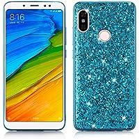 HUDDU Handyhülle Xiaomi Redmi Note 5 Pro, Glitzer Hülle Diamond Sparkles HandyGlitter Case PC Hard Cover Abdeckung... preisvergleich bei billige-tabletten.eu