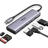 UGREEN USB C Hub 6 in 1 4K 60Hz HDMI SD TF Kaartlezer 3 USB 3.0 Poorten Adapter Type C voor MacBook Pro 2020, MacBook Air 202
