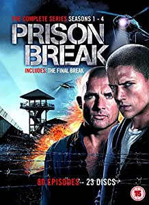 Prison Break - Complete Season 1-4 (New Packaging) [DVD]