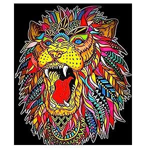 Colorvelvet L104 – Disegno Ruggito Leone, 47 x 35 cm