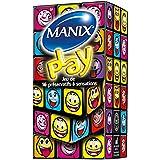 MANIX PLAY - 16 préservatifs Pack Découverte Sensations