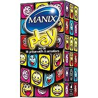 MANIX Play 1er Pack(1 x 16 Stück) preisvergleich bei billige-tabletten.eu