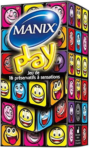 MANIX Play 1er Pack(1 x 16 Stück)
