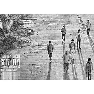 Got7 - [FLIGHT LOG: ABFAHRT] 5. Mini Album Serenity Ver. CD + 100p Fotobuch + Foto-Karte + Foto Ticket + Departure-Karte K-POP Sealed