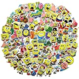 Spongebob Squarepants Adesivi Cartone Animato Impermeabile Riutilizzati Adesivi Riutilizzate Auto Laptop Helmet Bagaglio Vintage Skateboard Parete Decorer Bottiglia Adesivi (spongebob Squarepants )