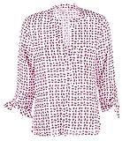 Emily van den Bergh Damen Bluse Größe 40 Weiß (weiß)