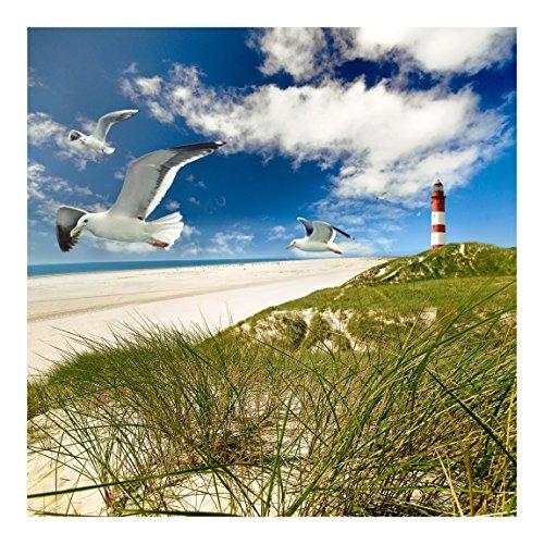 Vliestapete–Dune Breeze–Wandbild quadratisch