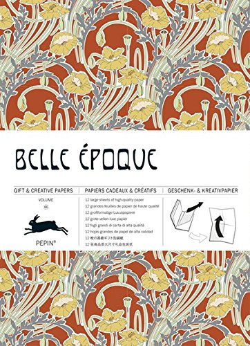 Belle Epoque: Geschenk- und Kreativpapierbuch Vol 66 (Giant Artists Colouring Books)