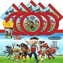 Juego de mesa para 16, de Nickelodeon bpwfa-98, Patrulla canina