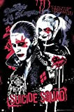 Close Up Suicide Squad Poster Joker und Harley Quinn (61cm x 91,5cm) + Original tesa Powerstrips® (1 Pack/20 STK.)